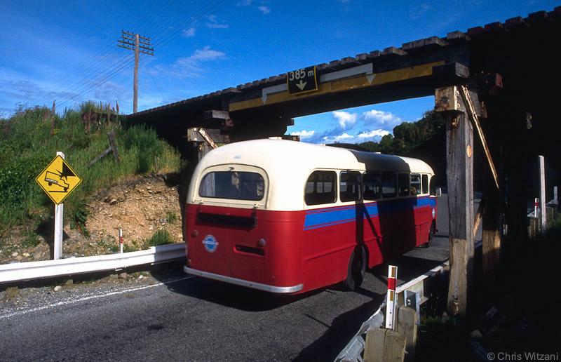 Schulbus in NZ