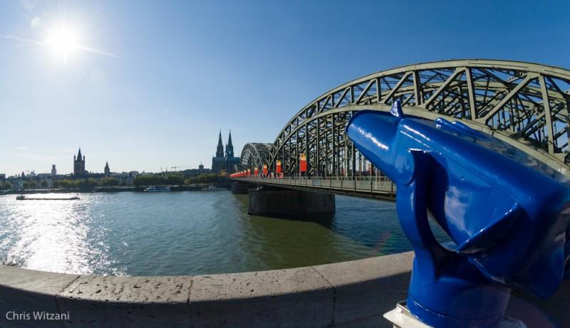 Sunny Cologne Kölnpanoramafernrohr