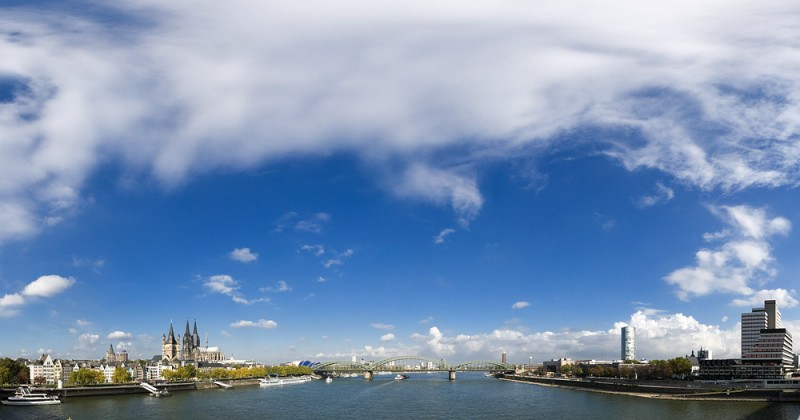 Himmel über Köln Panorama 20081017_himmel_ueber_koeln