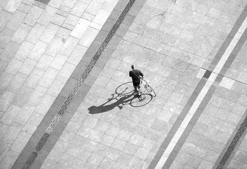 Dom Aussichten - Radfahrer
