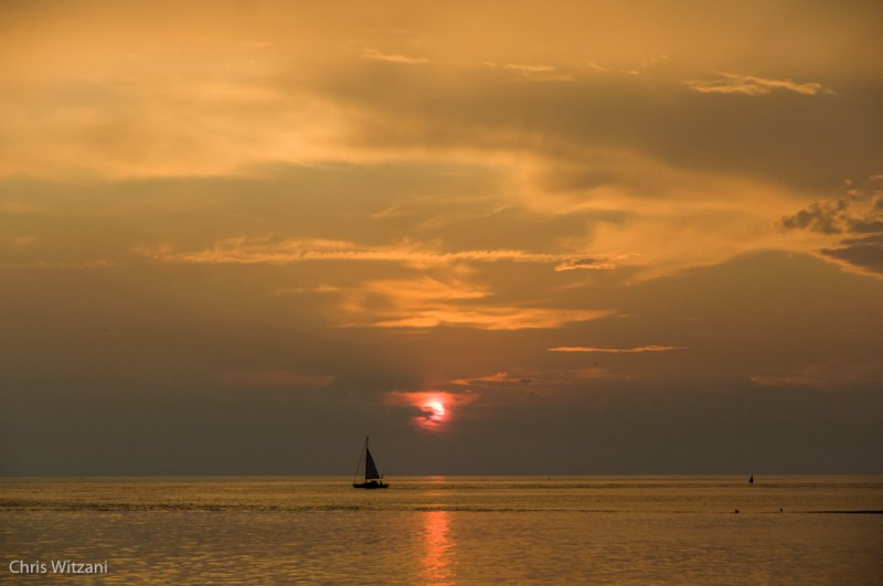 Weststrand Norderney Sonnenuntergang #108