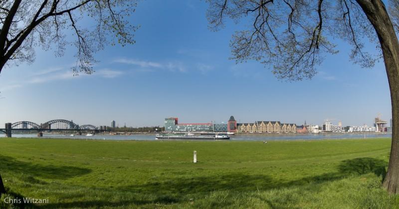 Rheinauhafen und Poller Wiesen