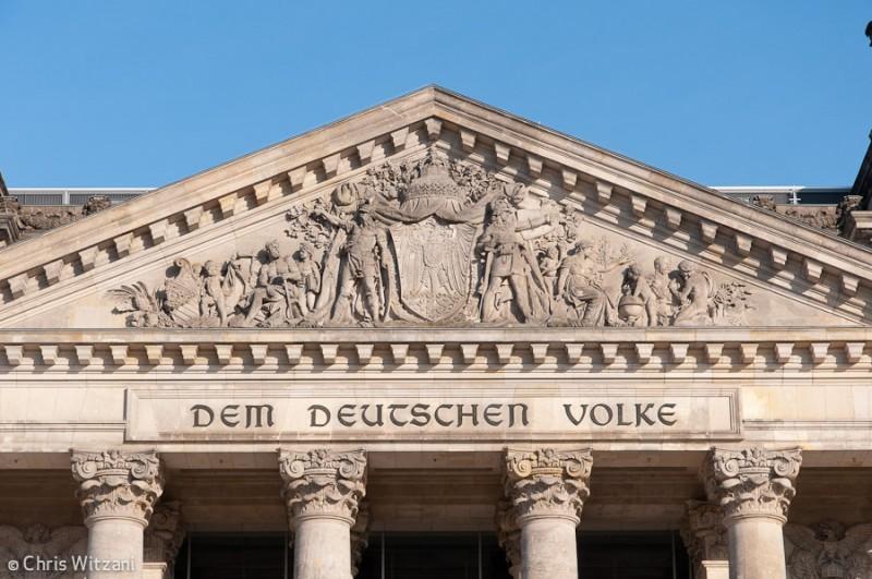 Dem Deutschen Volke im Regierungsviertel #9603