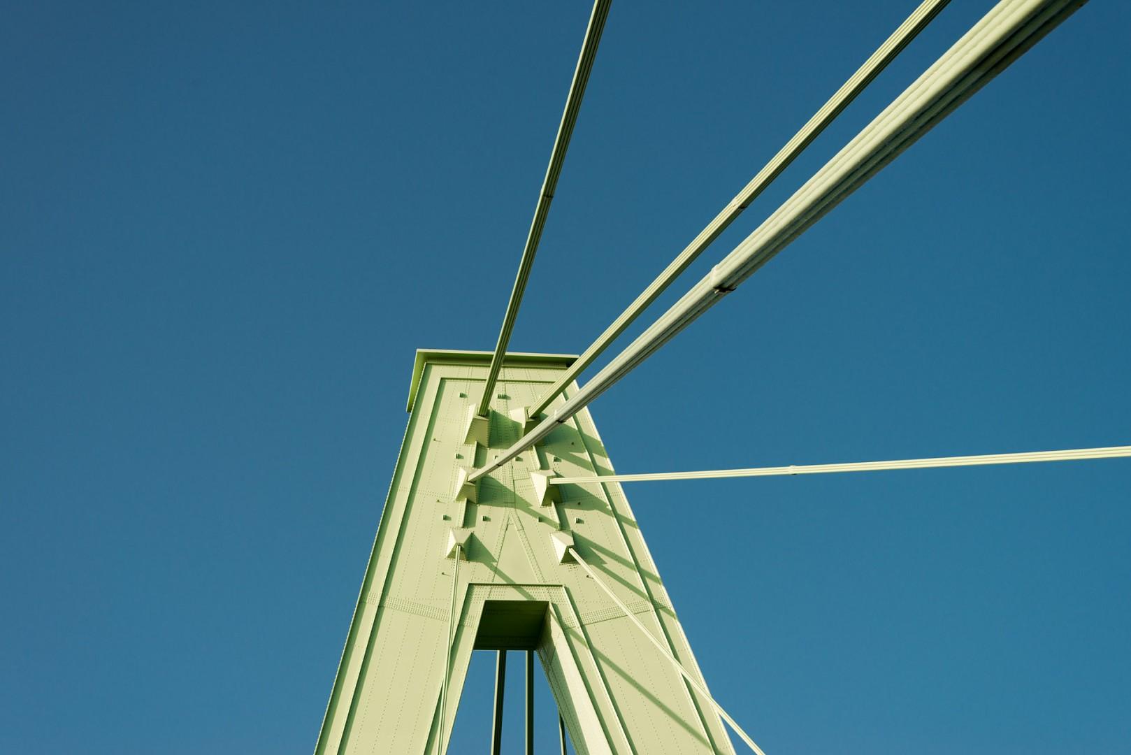 Severinsbrücke Spitze