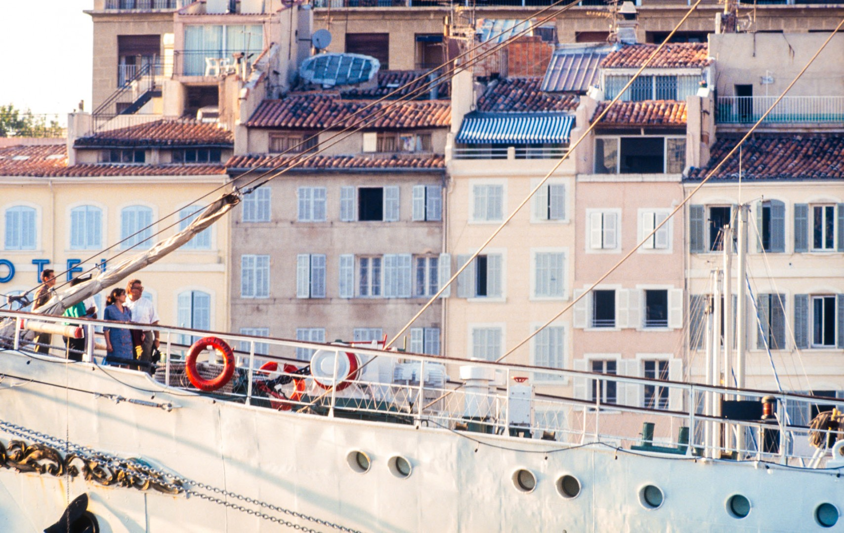 Segelschiff im Alten Hafen