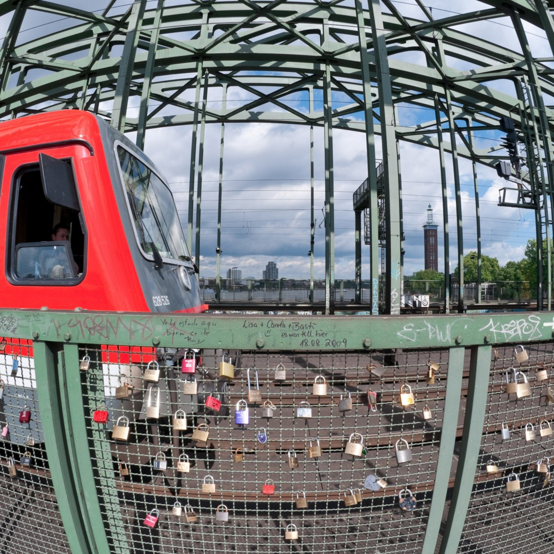 Liebesschlösser Hohenzollernbrücke