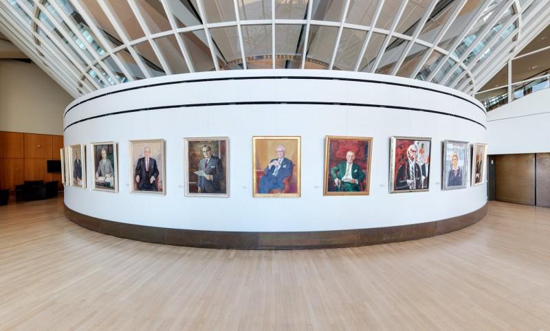Präsidentengalerie Landtag NRW