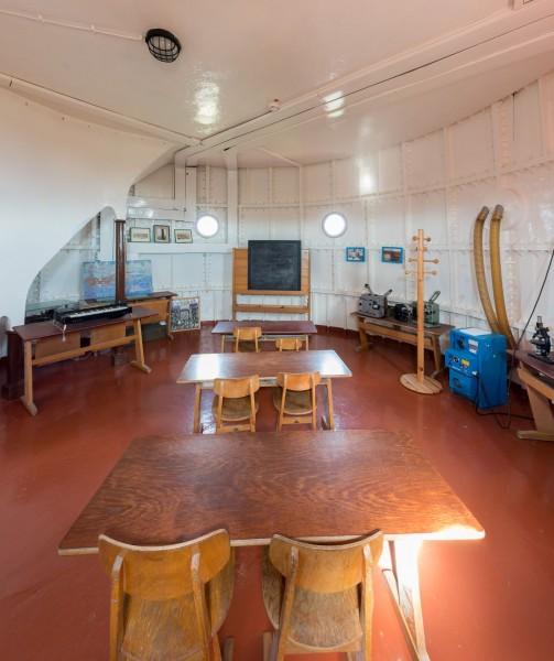 Klassenzimmer im Leuchtturm