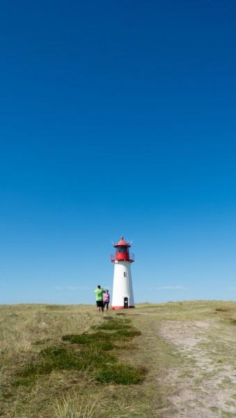 Leuchtturm List-West am Sylter Ellenbogen