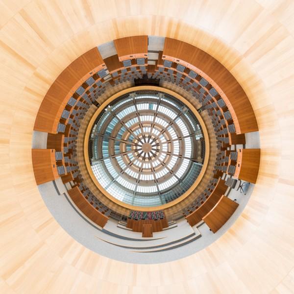 Landtag NRW Stereografie
