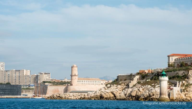 Marseille – Ansicht vom Meer