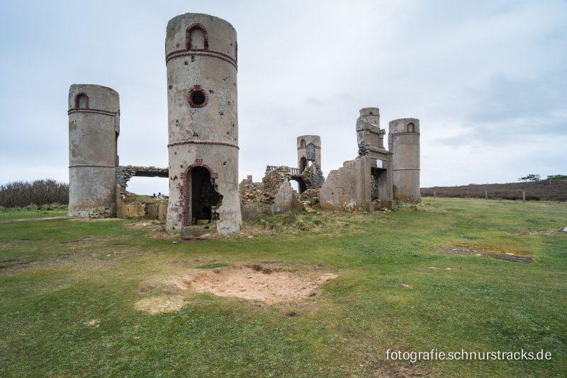 Les ruines du chateau de Saint Pol Roux #5149