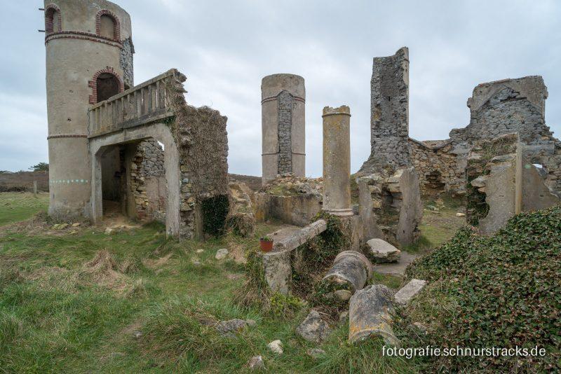 Les ruines du chateau de Saint Pol Roux #5157