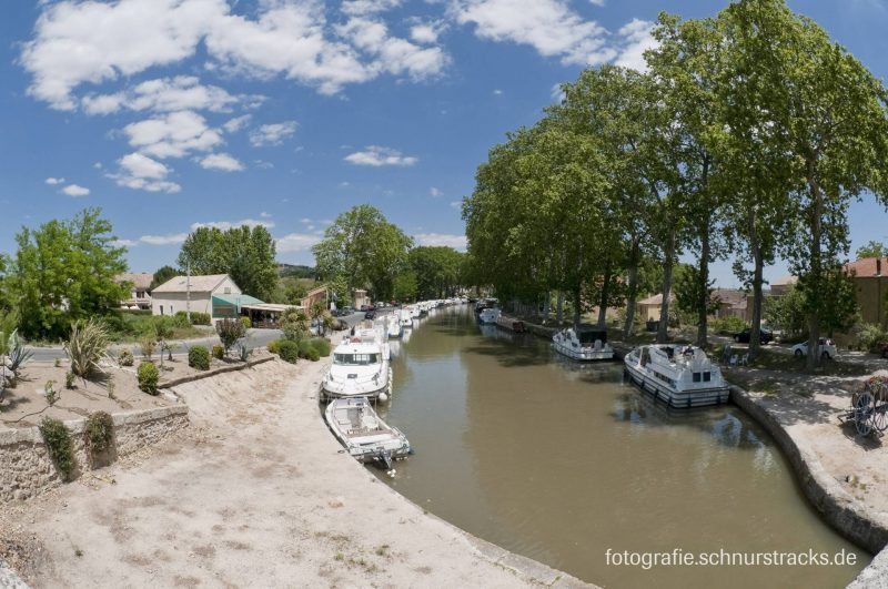 Hausboot Anlegestelle Capestang am Canal du Midi #274