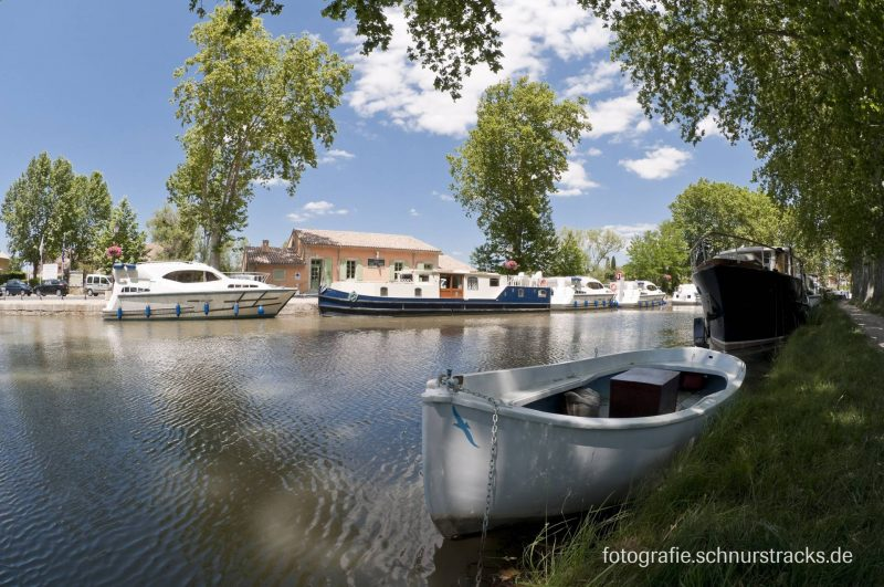 Hausboot Anlegestelle Capestang am Canal du Midi #290