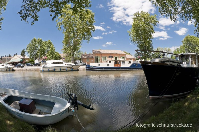 Hausboot Anlegestelle Capestang am Canal du Midi #291