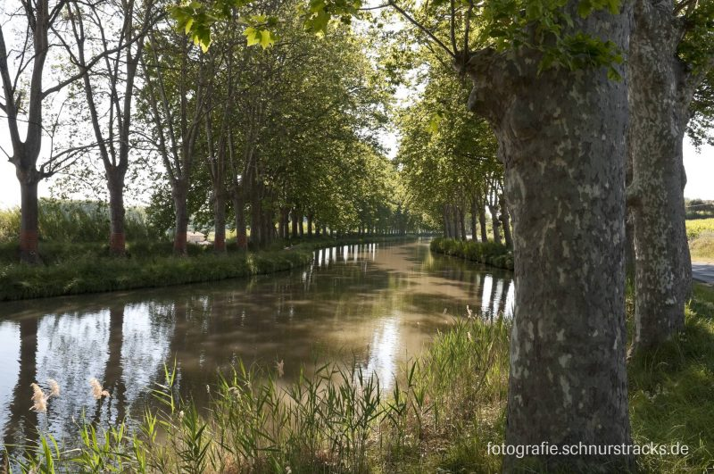 Canal du Midi - Hausboote