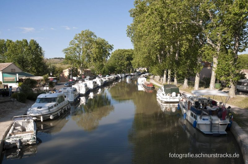 Hausboot Anlegestelle Capestang am Canal du Midi #654