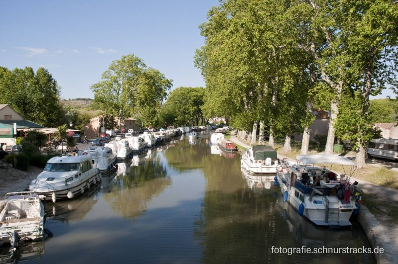 Hausboot Anlegestelle Capestang am Canal du Midi #655