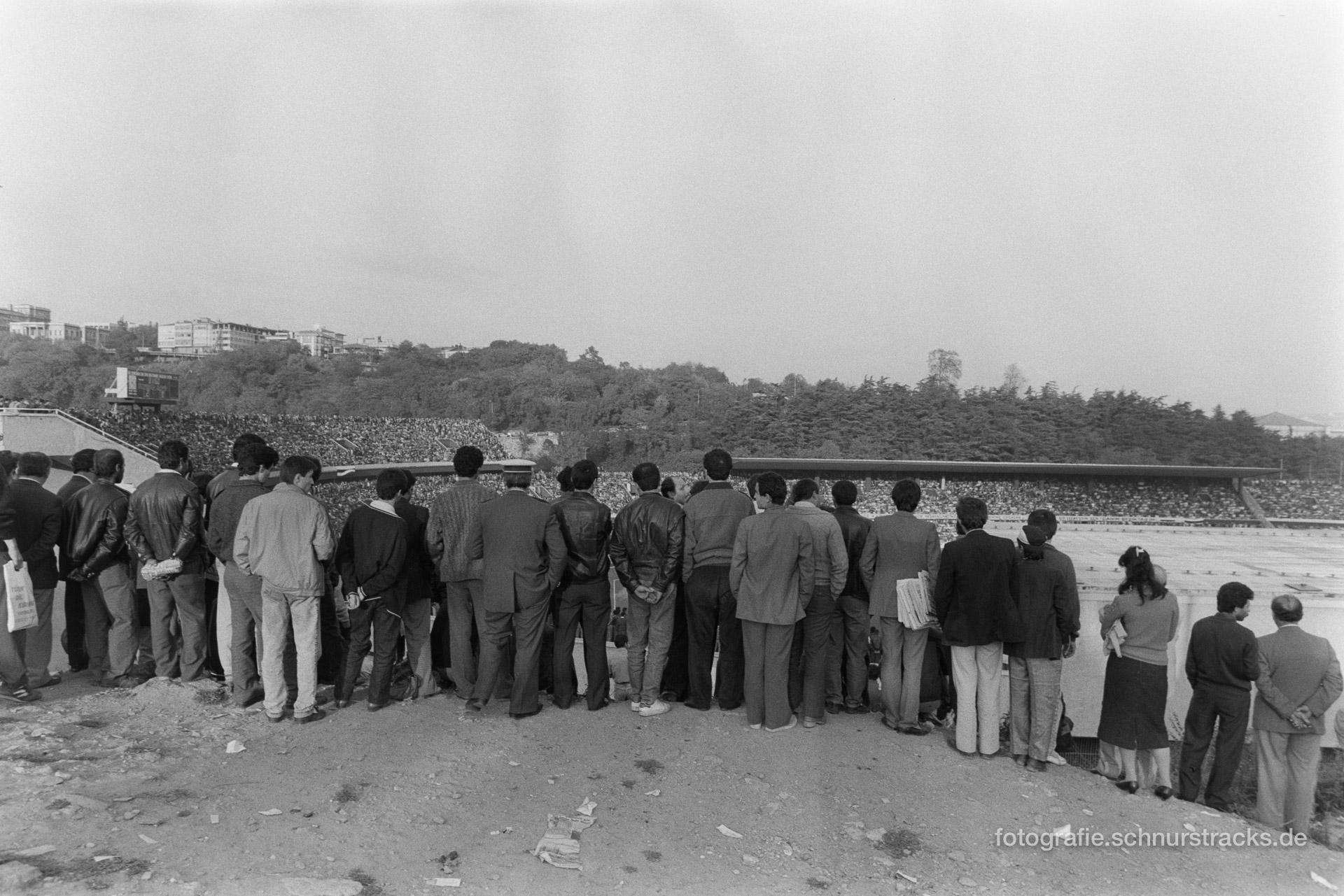 Fußballfans – Istanbul 1987