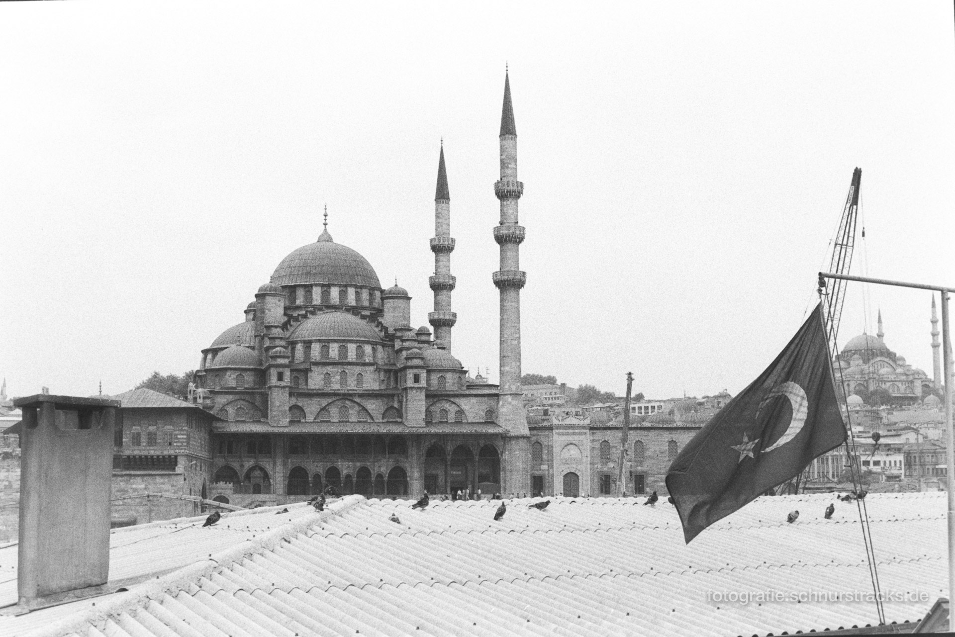 Sultan Ahmed Moschee – Istanbul 1987