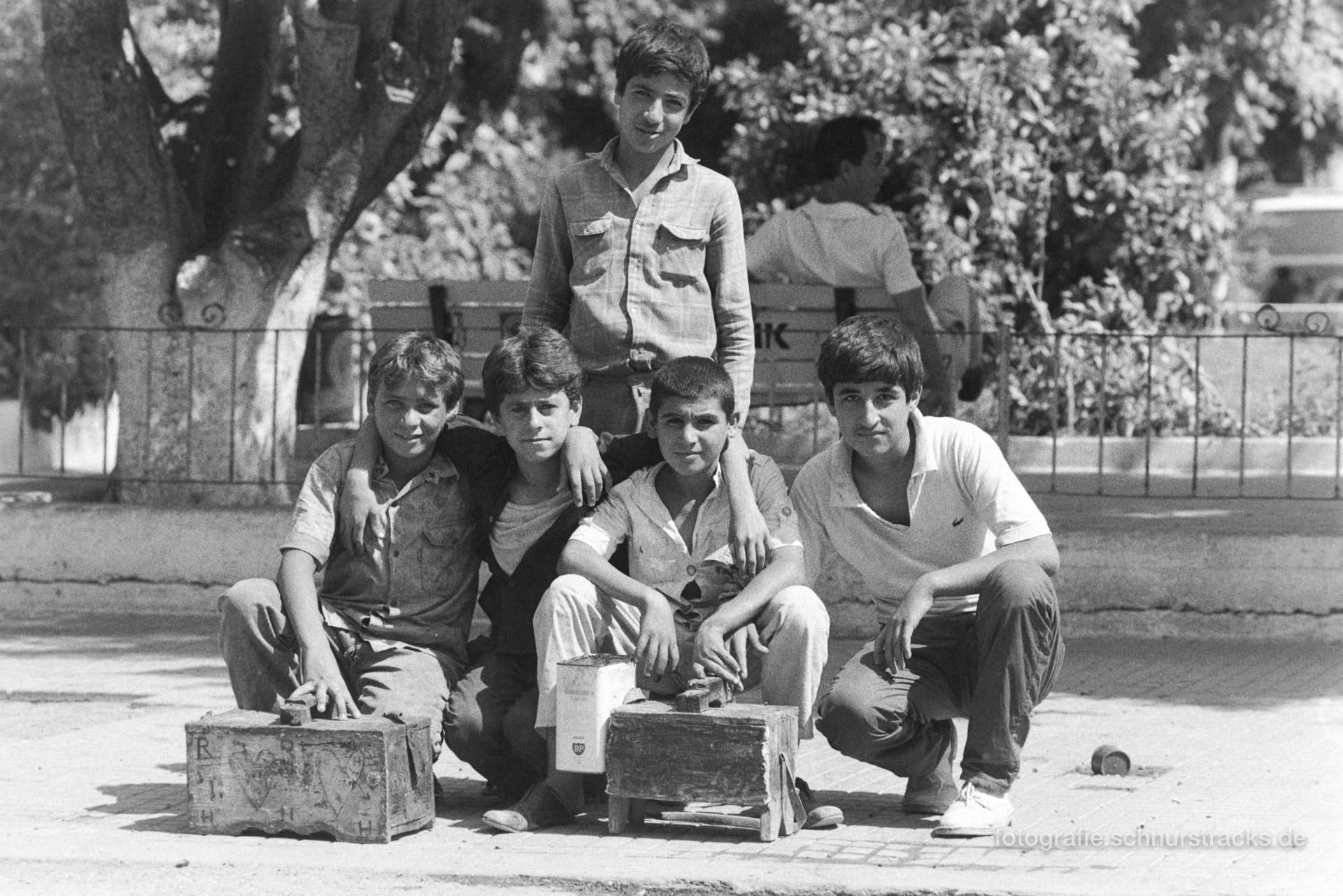 Schuhputzer-Gang – Türkei 1988