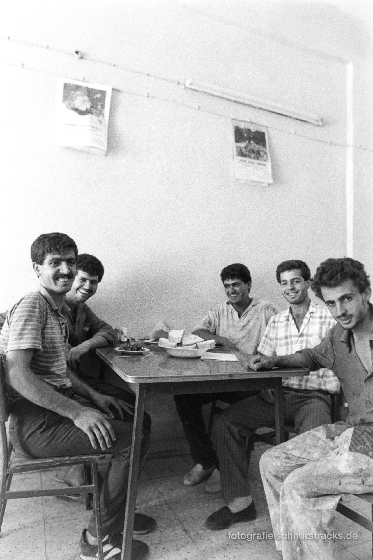 Mittagspause – Türkei 1988