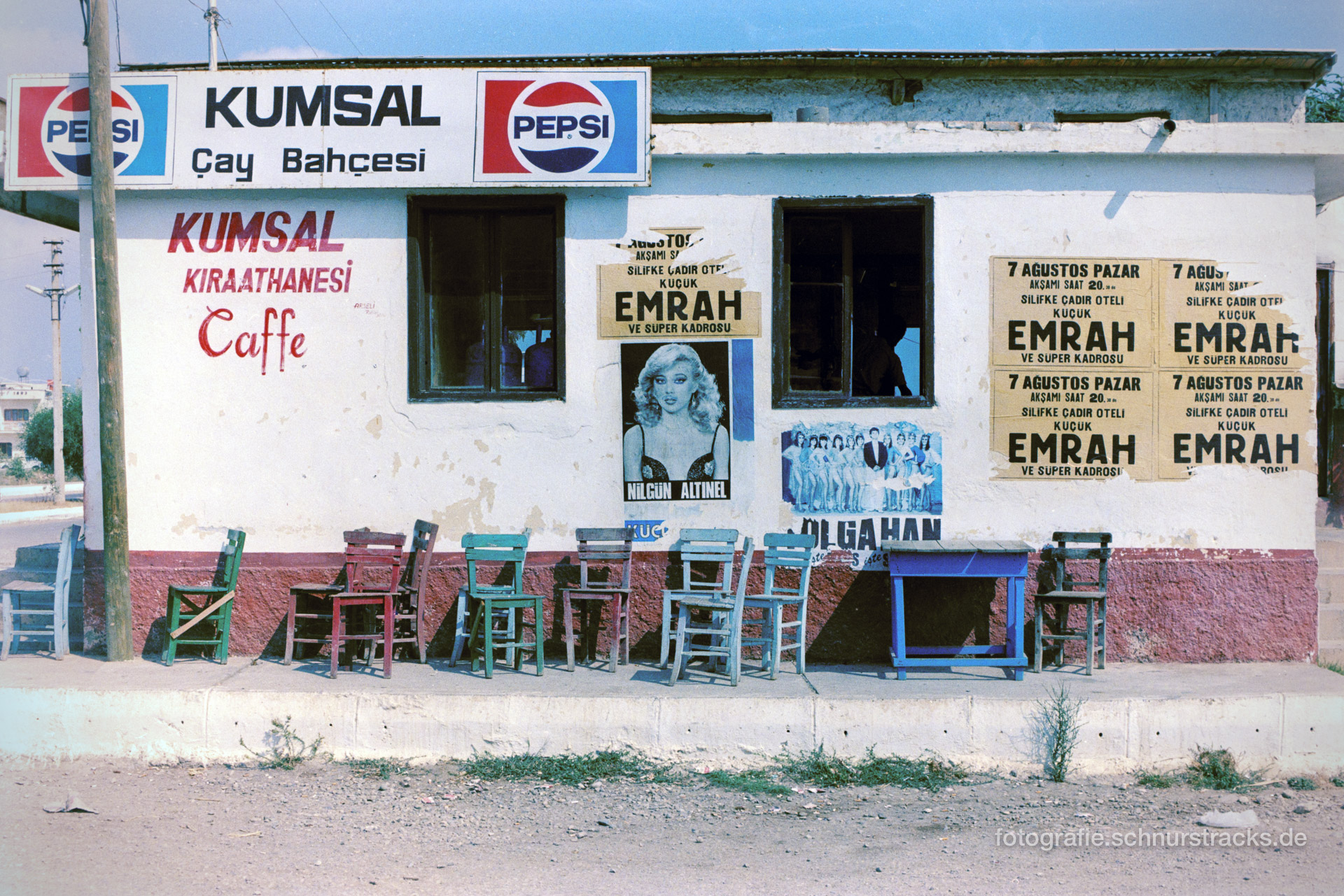 Teehaus – Türkei 1988