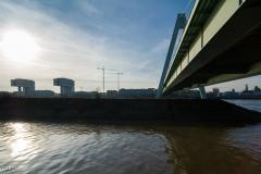 Unter der Severinsbrücke