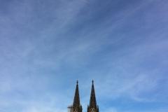 Kölner Dom im Himmel