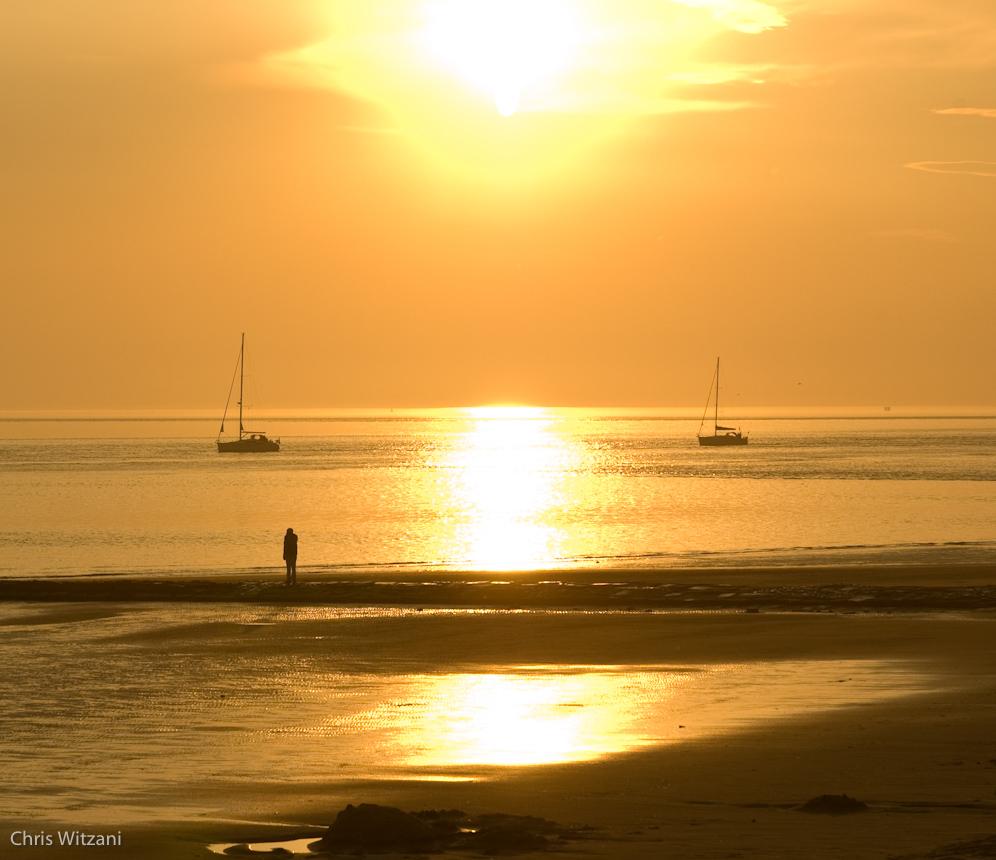Weststrand Norderney Sonnenuntergang #020