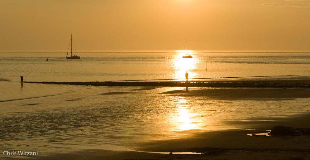 Weststrand Norderney Sonnenuntergang #025