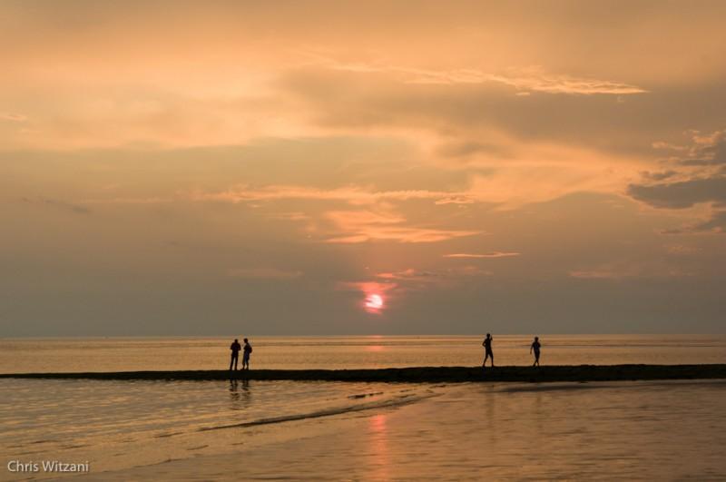 Weststrand Norderney Sonnenuntergang #118