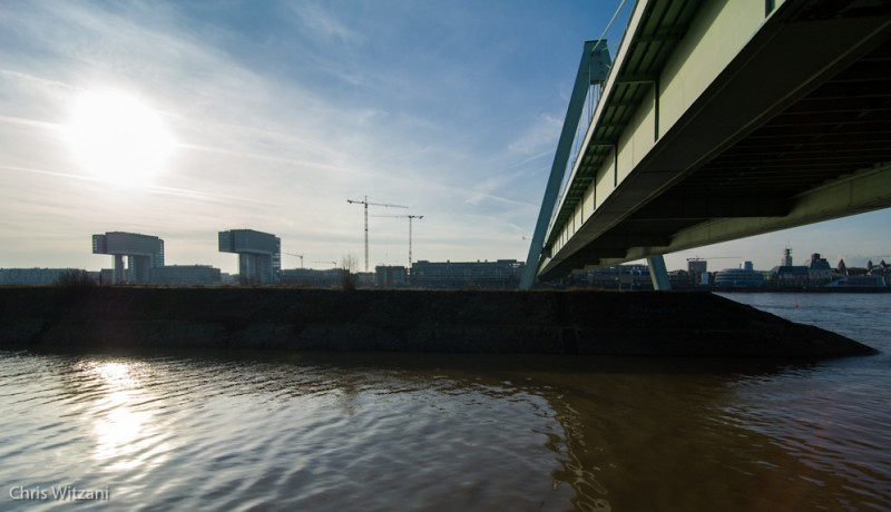 An der Severinsbrücke