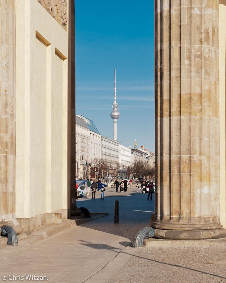 Brandenburger Tor und Fernsehturm #9583