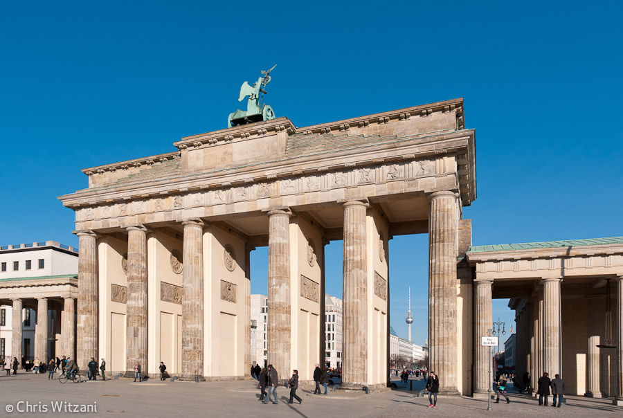 Brandenburger Tor Westseite #9584 Berlin