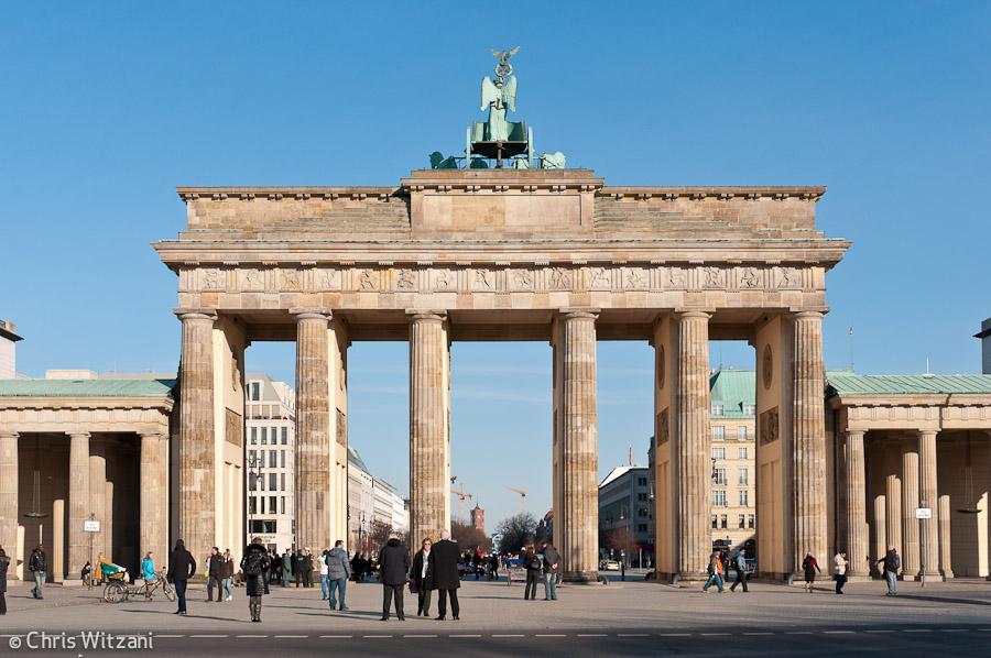 Brandenburger Tor Rückseite #9589 Regierungsviertel