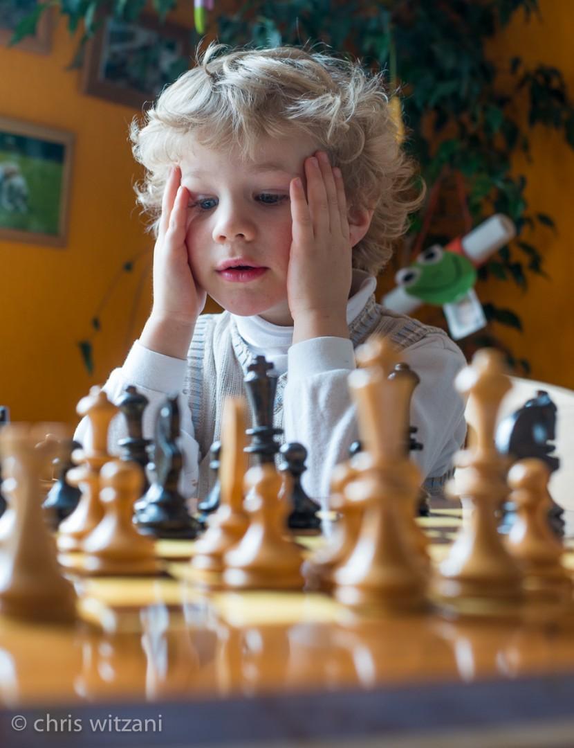 Schach mit Jonas
