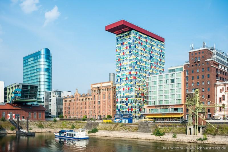 Medienhafen Düsseldorf - Colorium