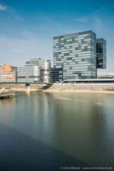 Medienhafen Düsseldorf - Hyatt Hotel
