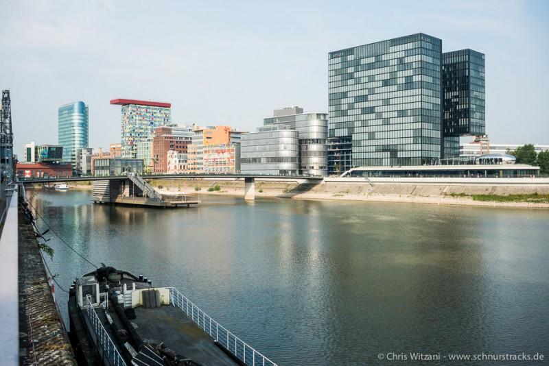 Medienhafen Düsseldorf mit Hyatt Hotel