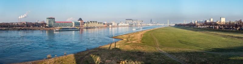 Rheinauhafen Panorama