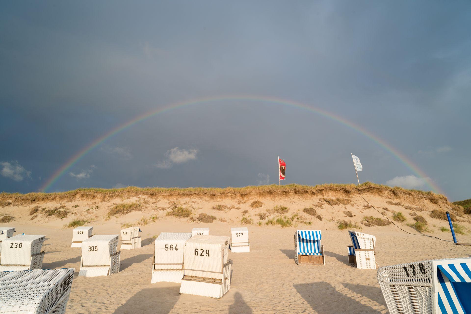 Regenbogen auf Sylt