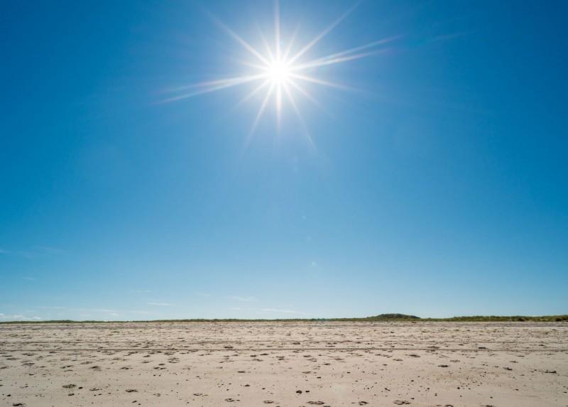 Sonne auf Sylt