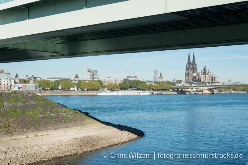 Kölnpanorama unter der Severinsbrücke #684