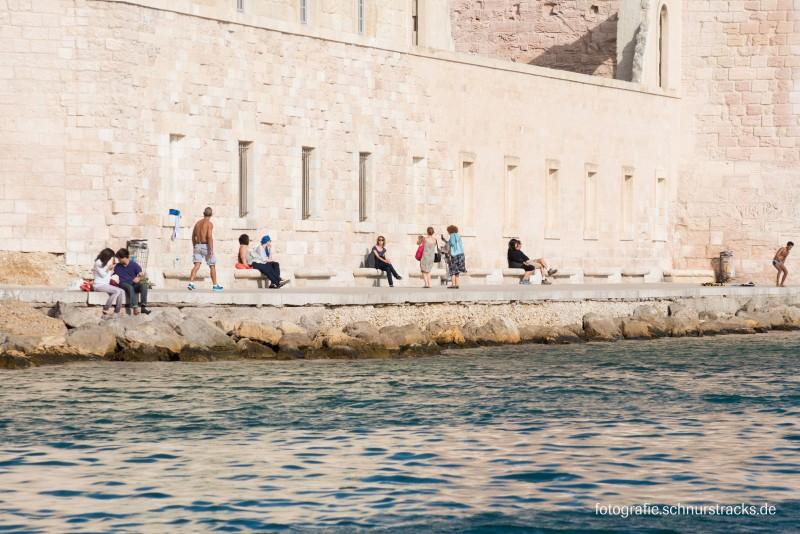 Promenade am Fort Saint-Jean in Marseille #1150