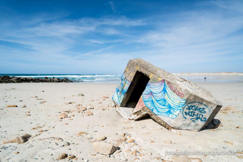 Bunker am Strand Plage de la Torche