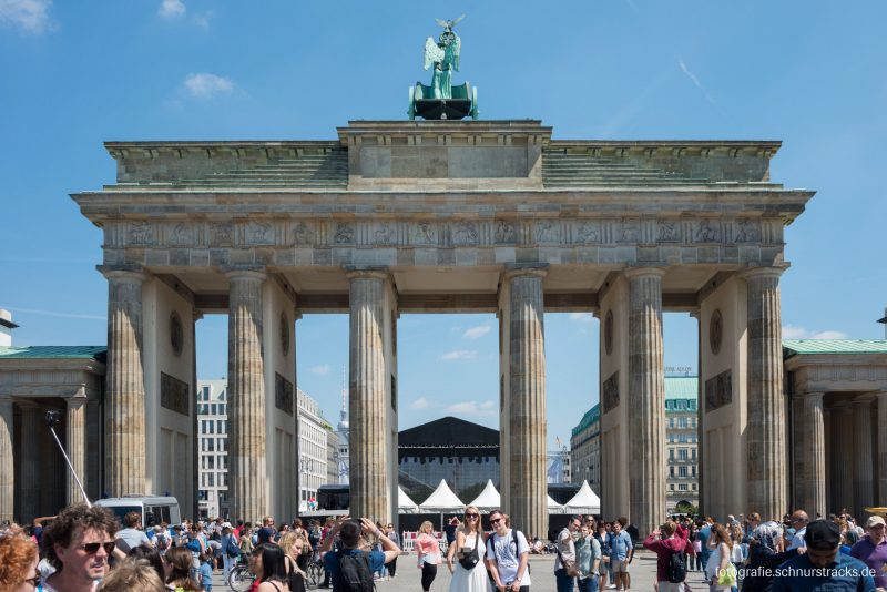 Brandenburger Tor Westseite