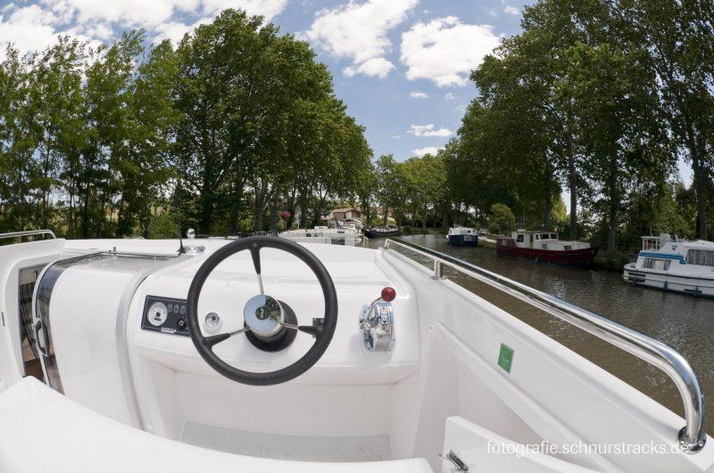 Venus 38 Hausboot Steuerrad #261