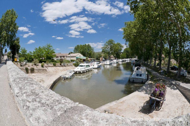 Hausboot Anlegestelle Capestang am Canal du Midi #275